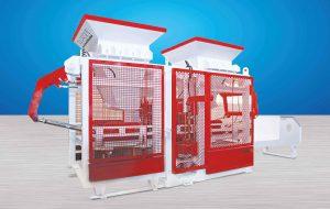 Automatic Concrete Block Machine TP.RN1518 II Double Packet