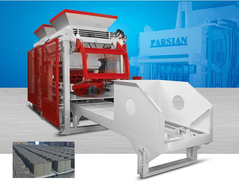 Automatic Concrete Block Machine TP.RN1015 II