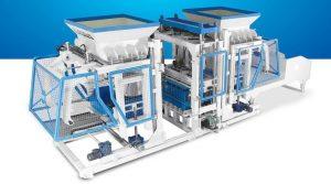 Fully Automatic Concrete Block Making Machine TP.RN2025