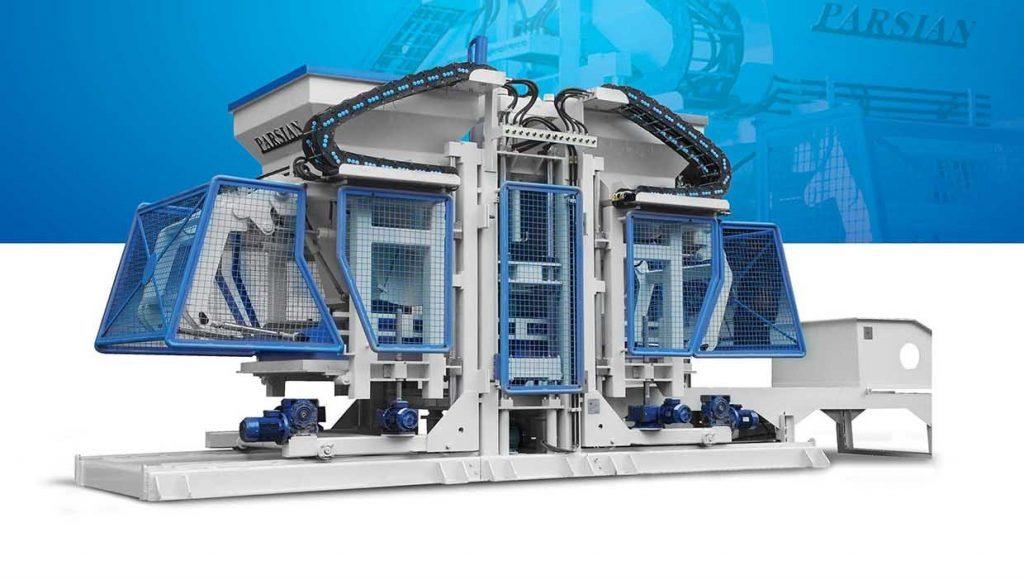 Fully Automatic Concrete Block Making Machine TP.RN2500