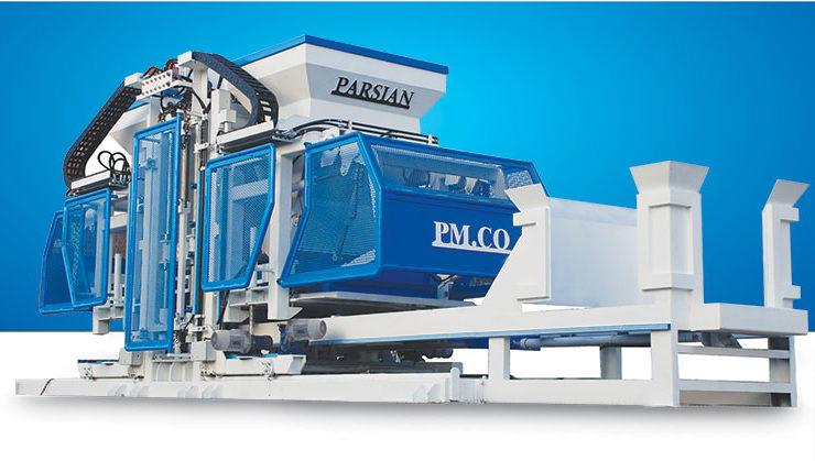 Tam Otomatik Parke Taşı Makinası TPRN3036